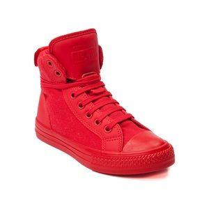 Zapatos De Los Hombres De Color Rojo Converse MSUXf